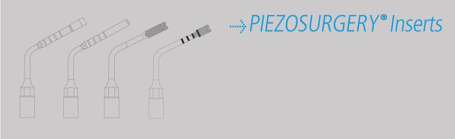 REX PiezoImplant inserts