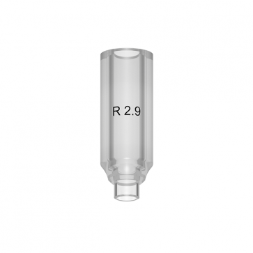 UCLA abutment R - (multiple units) for implants TL 2.9