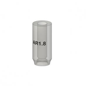 UCLA abutment AR - (single tooth) for REX PiezoImplant  TL 1.8