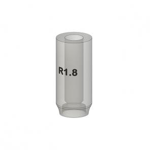 UCLA abutment R - (multiple units) for implants TL 1.8